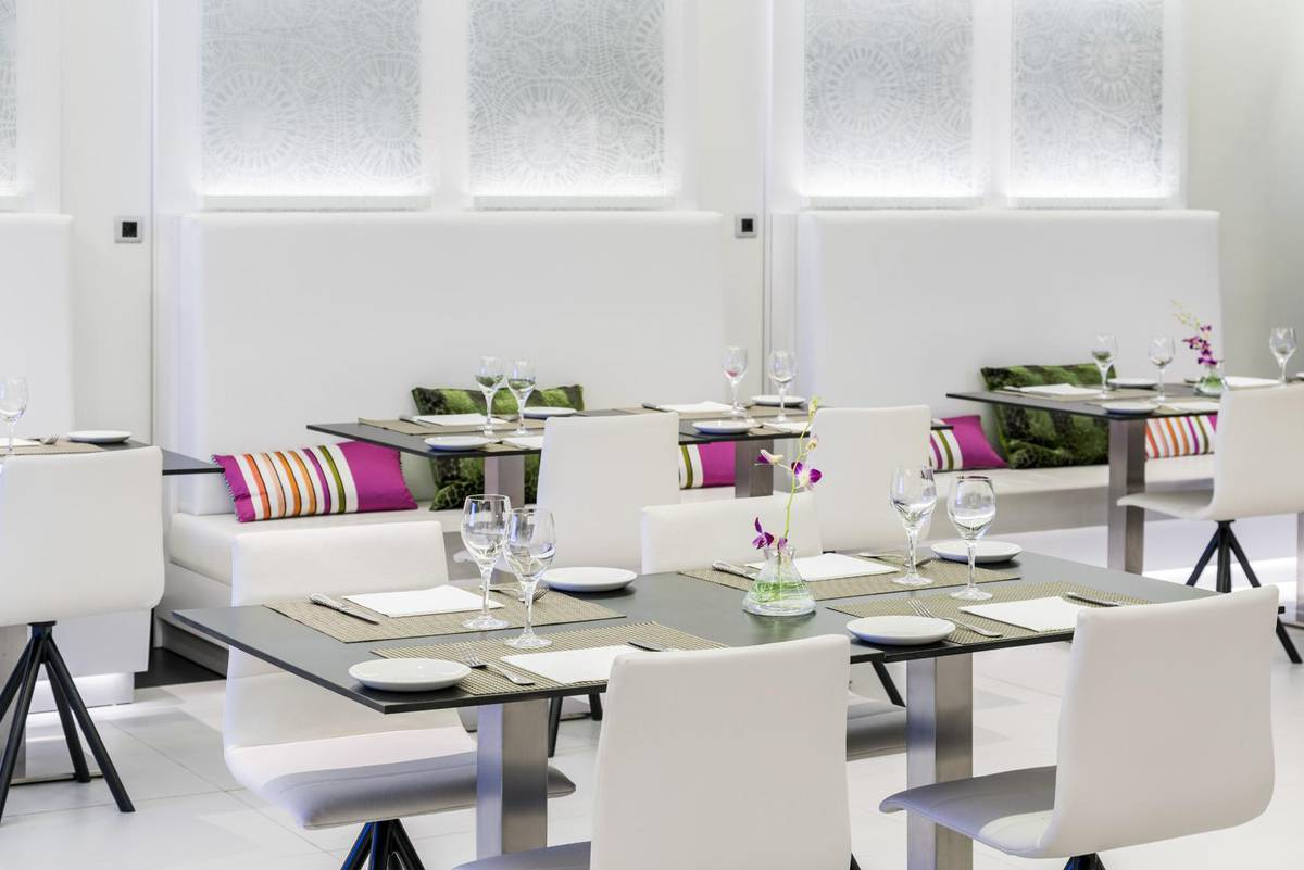 Restaurante-Hall ILUNION Suites Madrid